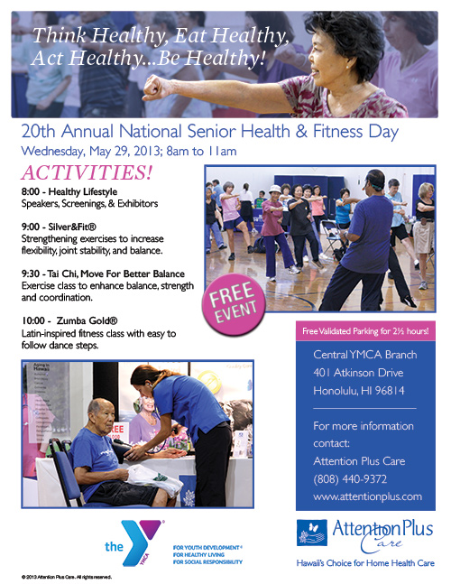 National Senior Health and Fitness day 2013